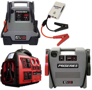 Car and truck jump starters